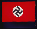 German flag with swastika found near Cassino and a...