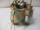 woven basket - tag attached states Wousi basket, ...