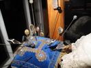 blue velvet pin cushion description: blue velvet; ...