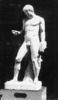 sculpture, plaster cast, of the male figure, stand...