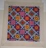 Tivaevae, multicoloured patchwork quilt. Tivaevae ...