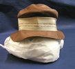 hat, women's,  brown straw hat in very fine weave,...