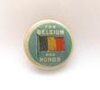 For Belgium and Honour, fundraising badge, WW1 des...