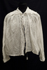 white, loose weave cotton , early 20th century blo...