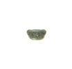 This pekapeka, greenstone pendant, has a countersu...