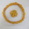 kauri gum necklace, beads