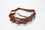 bandolier [ammunition belt]  Part of uniform worn ...