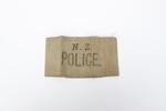NZ Police armband: worn by NZ Legion of Frontiersm...