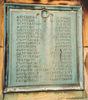 Auckland Grammar School War Memorial, Panel 1, bronze plaque, names McArthur - O' Connor (Photo P. Baker 2008) - No known copyright restrictions