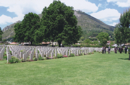 Cassino War Cemetery (Photo. John Wright, 2004) - This image may be subject to copyright