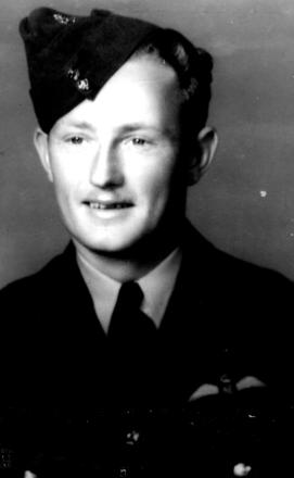Portrait, taken when he received his wings - This image may be subject to copyright