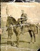 Soldier on horseback, Claude Breen, taken at Aboul-Ella Railway Station on 16 January 1916 whilst on duty in charge of party. - No known copyright restrictions