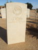 Headstone, Tobruk War Cemetery, Libya (photo B. Coutts, 2009) - This image may be subject to copyright