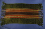 antimacassar description: plush, striped with frin...