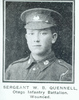 Wilfred B Quennell portrait, wounded published ?? - No known copyright restrictions