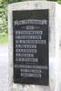 Puhoi War Memorial, WW1 name panel (photo John Halpin, January 2013) - CC BY John Halpin