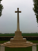Detail, Cross of Sacrifice, Favreuil British Cemetery (photo Jo Larsen-Harris 2013) - No known copyright restrictions