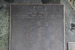 Takapuna War Memorial, (ex RSA Roll, on a boulder), (photo John Halpin, August 2013) - CC BY John Halpin