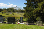 Wide view Headstone, Waikumete Cemetery, Auckland (photo J. Halpin 2012) - This image may be subject to copyright