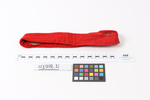 Uniform accessories, 1NZEF Comprise: red puggaree ...