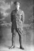 Full length portrait of Lance Corporal Henry Lupton, Reg No 26869, of the Auckland Infantry Battalion, - A Company, 17th Reinforcements (Photographer: Herman Schmidt, ). Sir George Grey Special Collections, Auckland Libraries, 31-L2833. No known copyright.