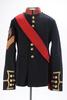 Naval jacket with sash : Colour Sergeant : Royal M...