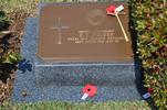 Gravestone at Busan Cemetery for 203624 Dennis Fielden. No Known Copyright.