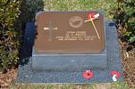 Gravestone at UN Cemetery Pusan, Korea for 203526 Mervyn Frith. No Known Copyright.