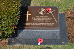 Gravestone at UN Cemetery Pusan, Korea for 13155 Robert Marchioni. No Known Copyright.