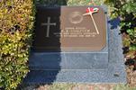 Gravestone at UN Cemetery Pusan, Korea for 206066 Robert Compton. No Known Copyright.
