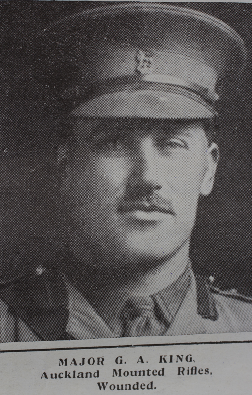 George August King, image from Auckland War Memorial Museum