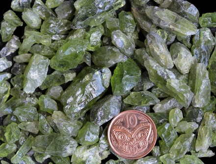 Rock and Mineral Types Minerals Silicates Nesosilicates Olivine