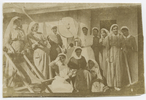 Nurses on board troopship. Le Gallais family. Auckland War Memorial Museum Library. PH-ALB-2-p25L1. No known copyright restrictions.