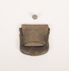 coin purse containing one spent bullet Part of per...