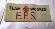 armband, Team leader, Emergency Precautions Scheme...