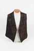Brocade waistcoat or vest worn by Mr. Longdill (ar...