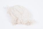 Three babies bonnets white cotton, drawn thread wo...