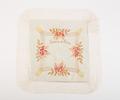 Souvenir silk cushion cover, WW1 Sent home by 4982...