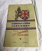 souvenir programme, 1940 Coronation, Franklin Zone...