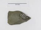 stone flake.