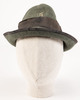 Italian slouch hat, WW1 [?] description: green wit...