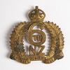 regimental badge: 6th  (Manawatu) Mounted Rifles, ...