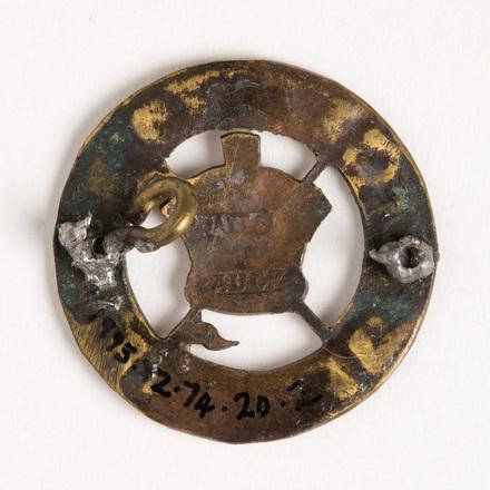badges, regimental