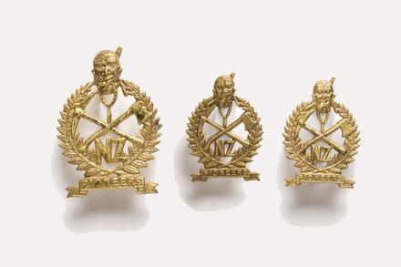 badge, regimental