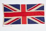 Union Jack Associated with  WL Robinson, NZ Staff ...
