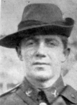 Portrait of Trooper Archie Patchett (7/254). Image kindly provided by Marlborough memorial project (2009). Image has no known copyright restrictions.