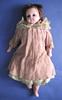 doll, locality: New Zealand. description: pink wa...