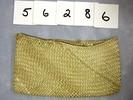 Small plaited purse, pandanus leaf strips, plain u...
