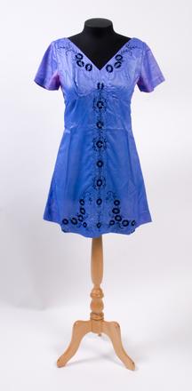 dress, beaded