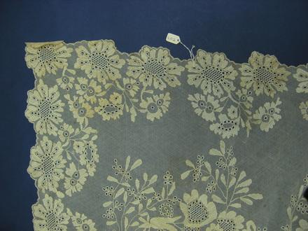shawl, lace